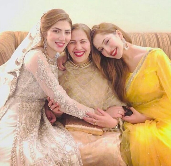 Naimal Khawar Family 4