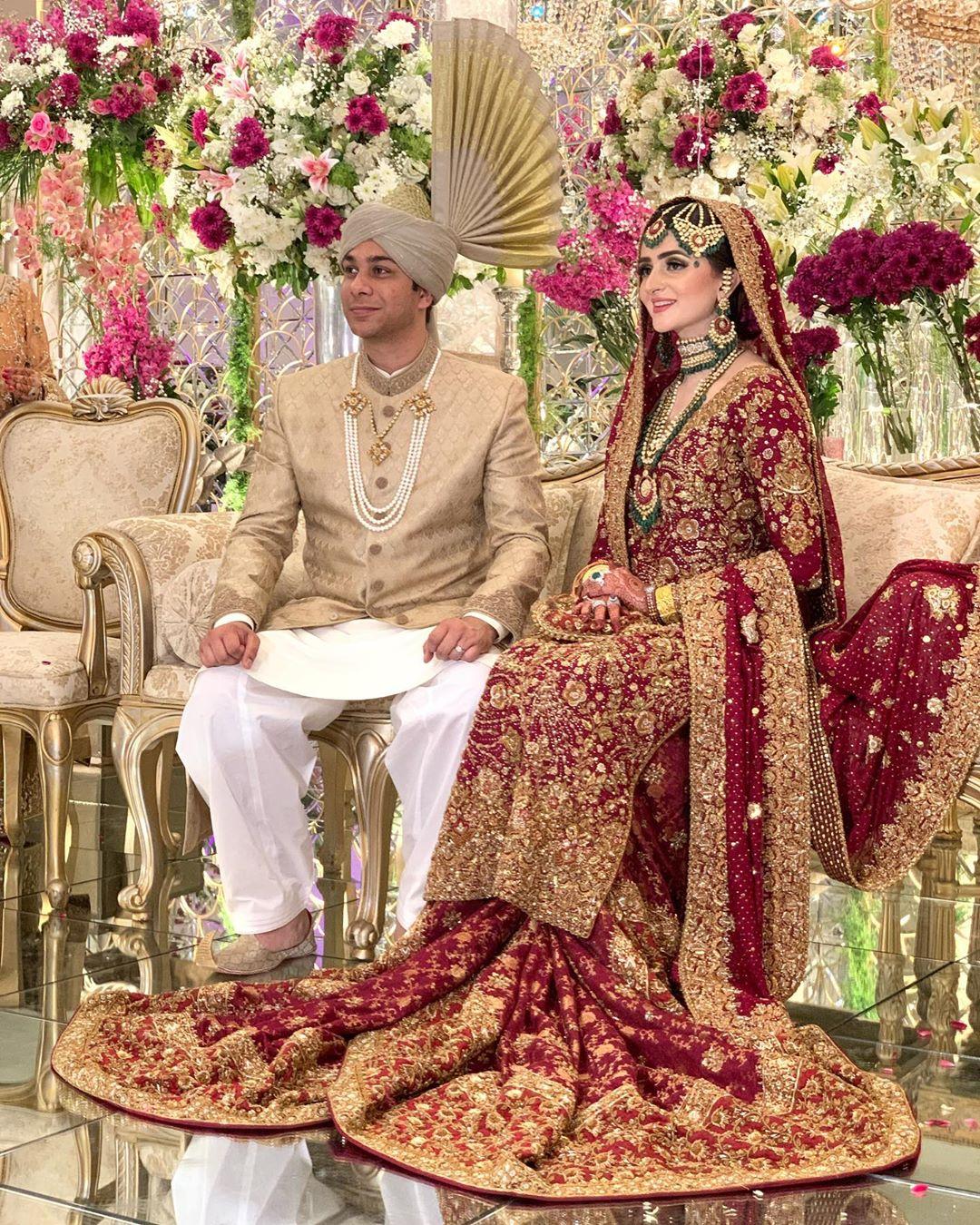 Former Chief Justice of Pakistan Saqib Nisar Son Najam Wedding Pictures
