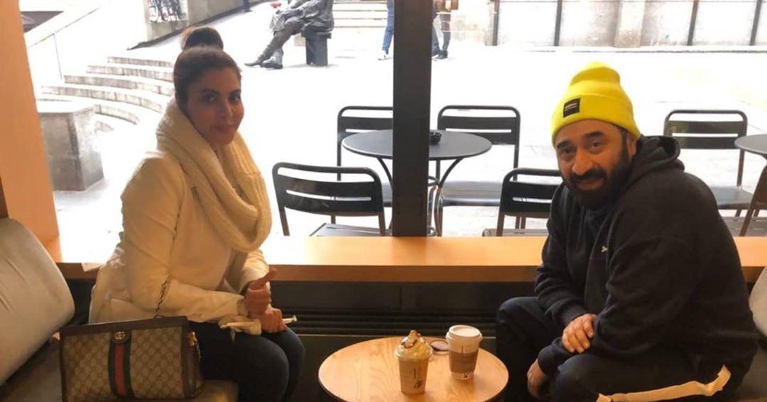 Yasir Nawaz with Wife Nida Yasir Enjoying Winter Vacations in Switzerland 2020