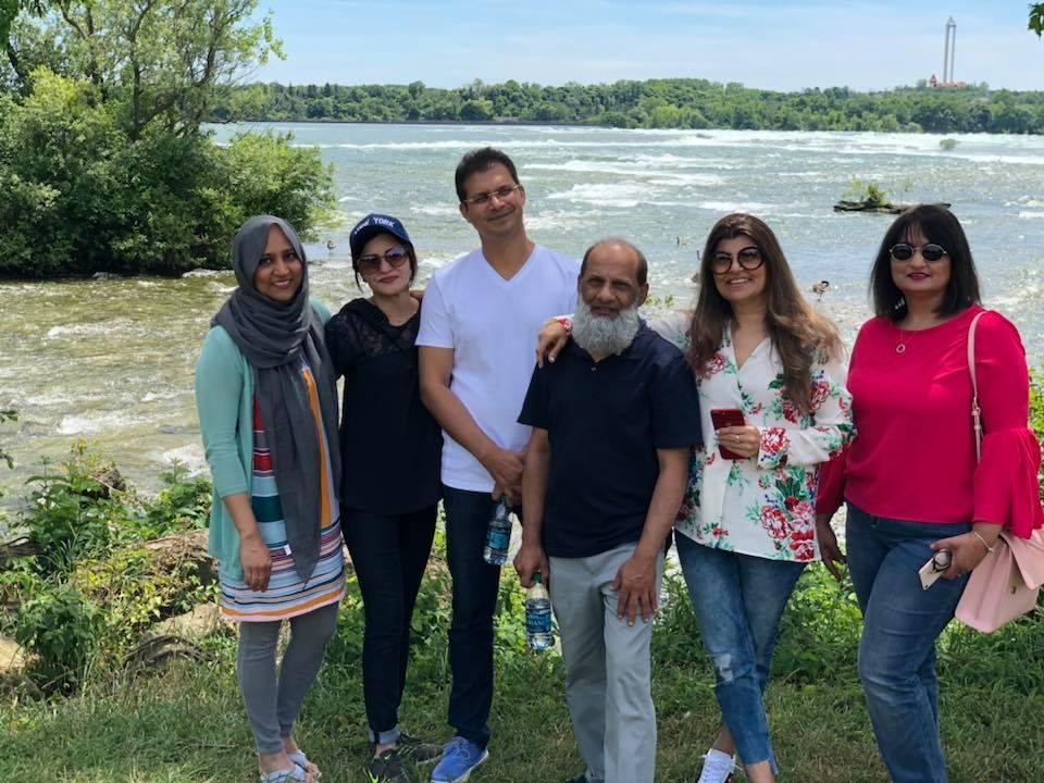 Rubina Ashraf Family 4