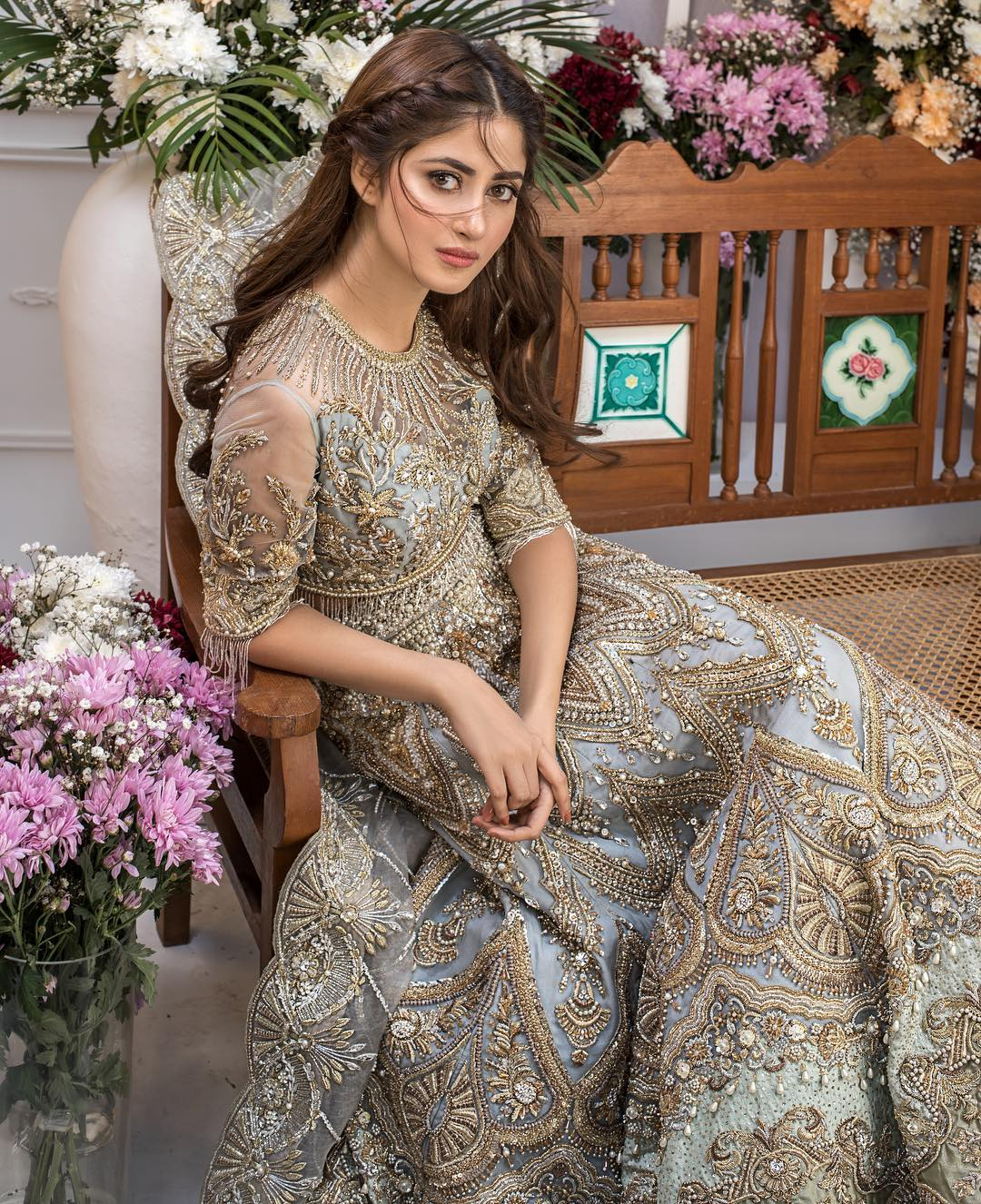 Sajal Aly's Latest Bridal Photo Shoot for Trousseau