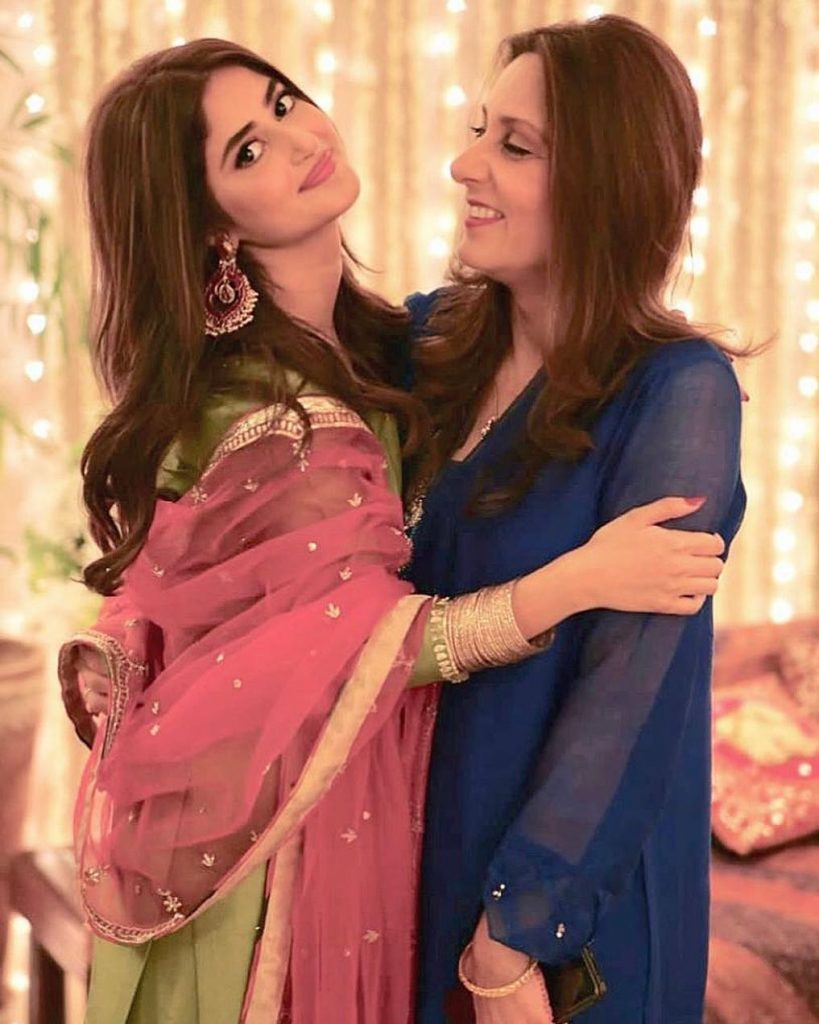 Sajal Aly Flaunts Mother-in-Law's Dupatta
