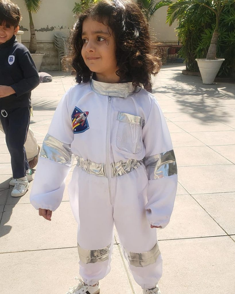 Sanam Jung Shares Video Of Her Little Astronaut