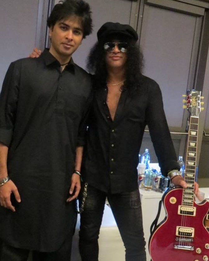 Shehzad Roy Performed With Members Of Guns N Roses 7
