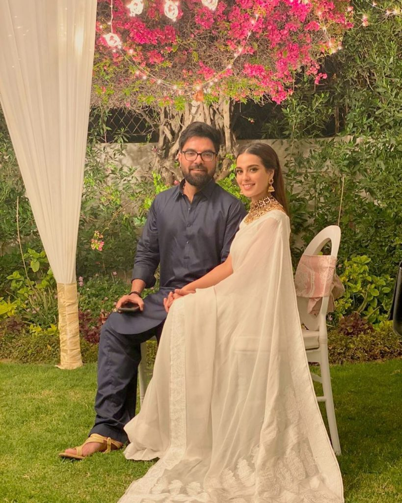 Yasir Hussain And Vasay Chaudhry Under Criticism For Their Remarks About Nausheen Shah