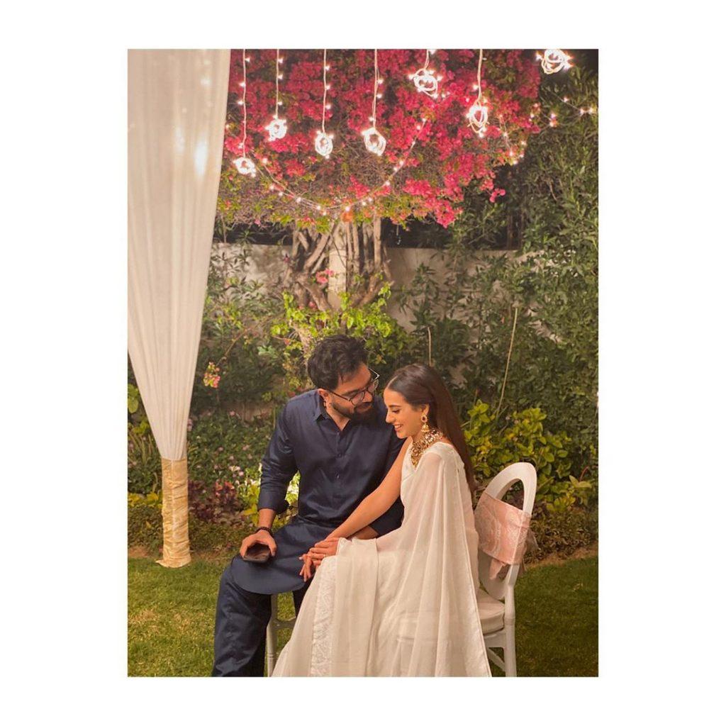 Wedding Celebration Party Of Iqra Aziz And Yasir Hussain