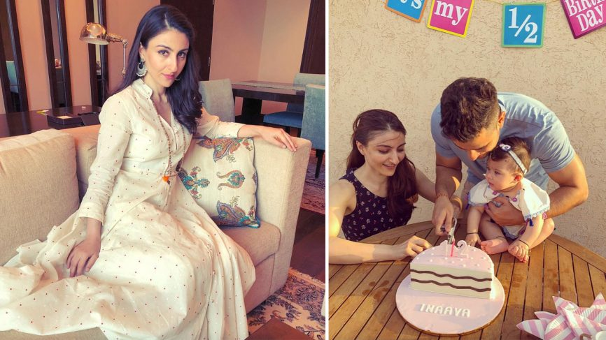 bollywood celebrity soha ali khan kunal khemus home mumbai private oasis 866x487 1