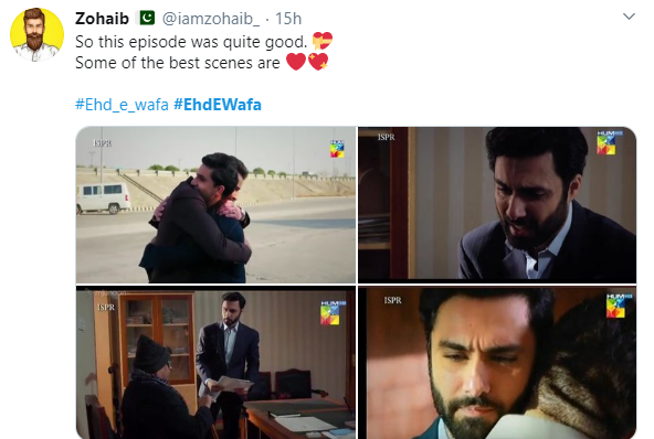 The Latest Episode Of Ehd E Wafa Has Made Pakistan Emotional