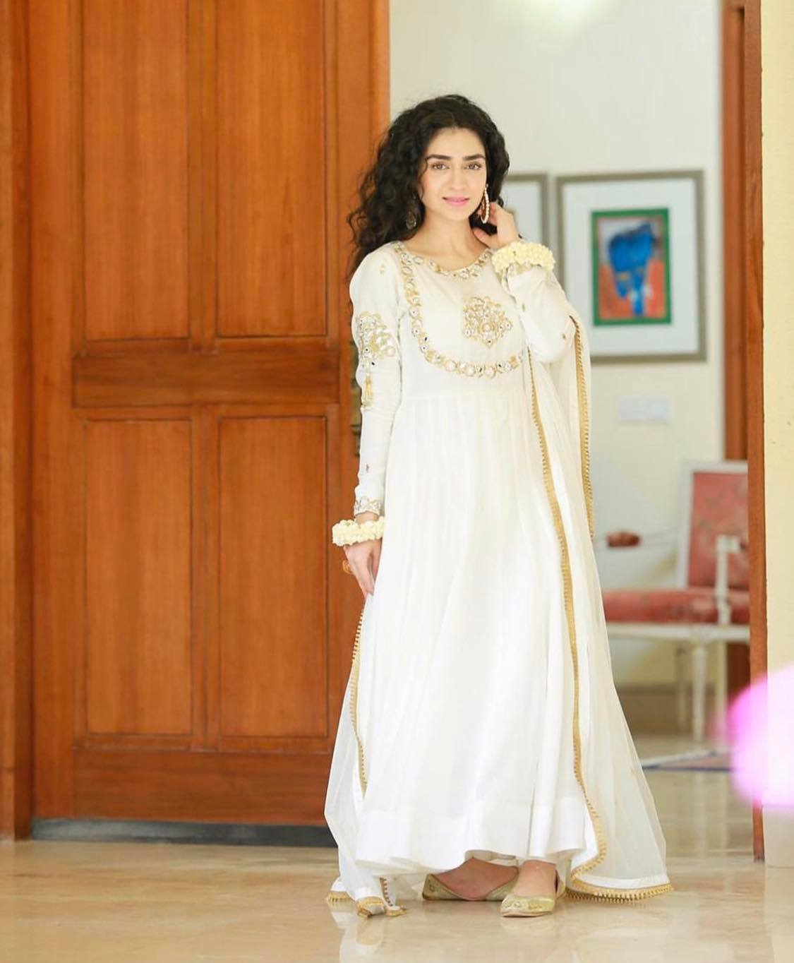 Top Pakistani Actresses In Beautiful White Dresses Reviewit Pk