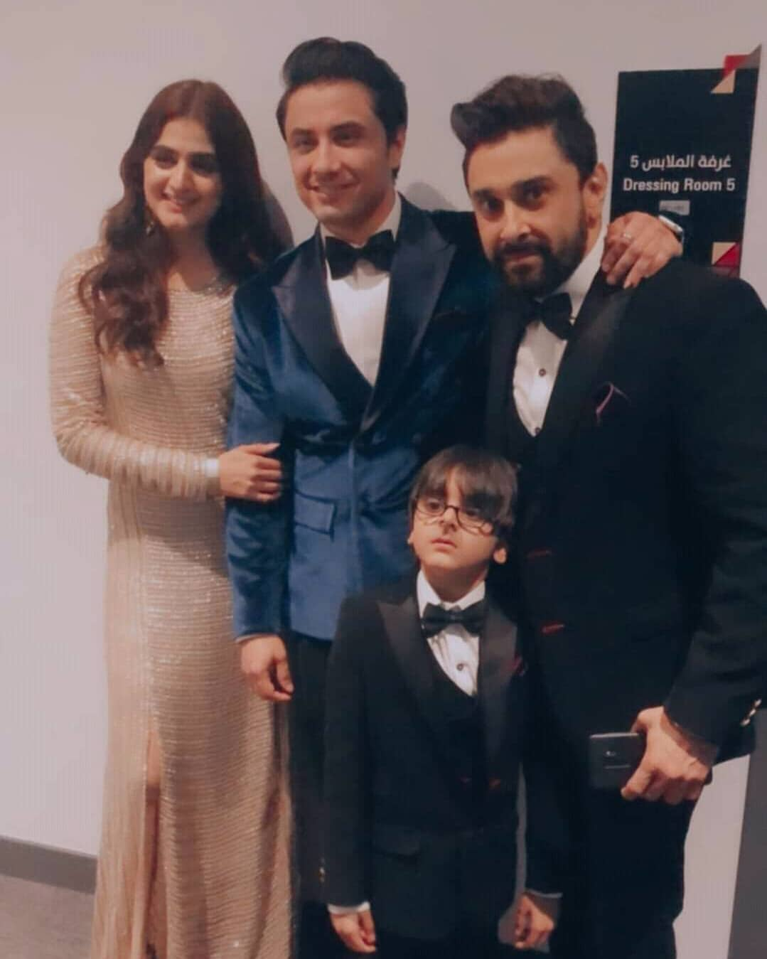 Hira and Mani with Kids Beautiful Pictures from PISA Awards 2020