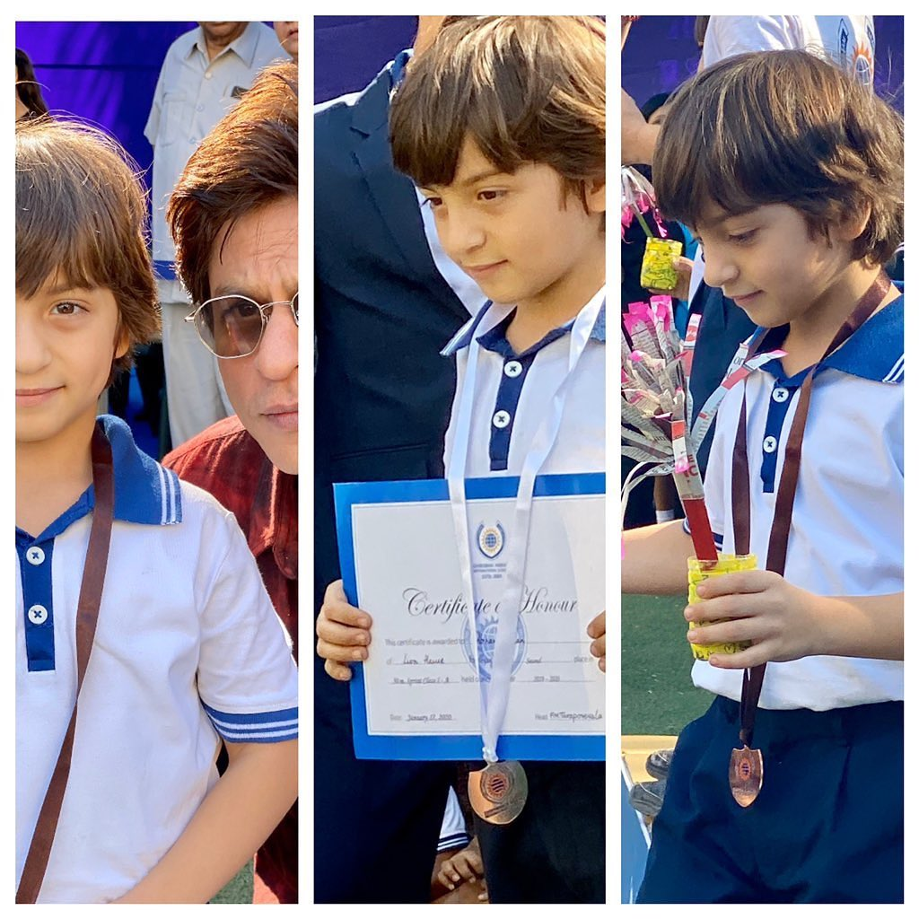 Shahrukh's Abram Khan is Gold Medalist in Taekwondo NOW