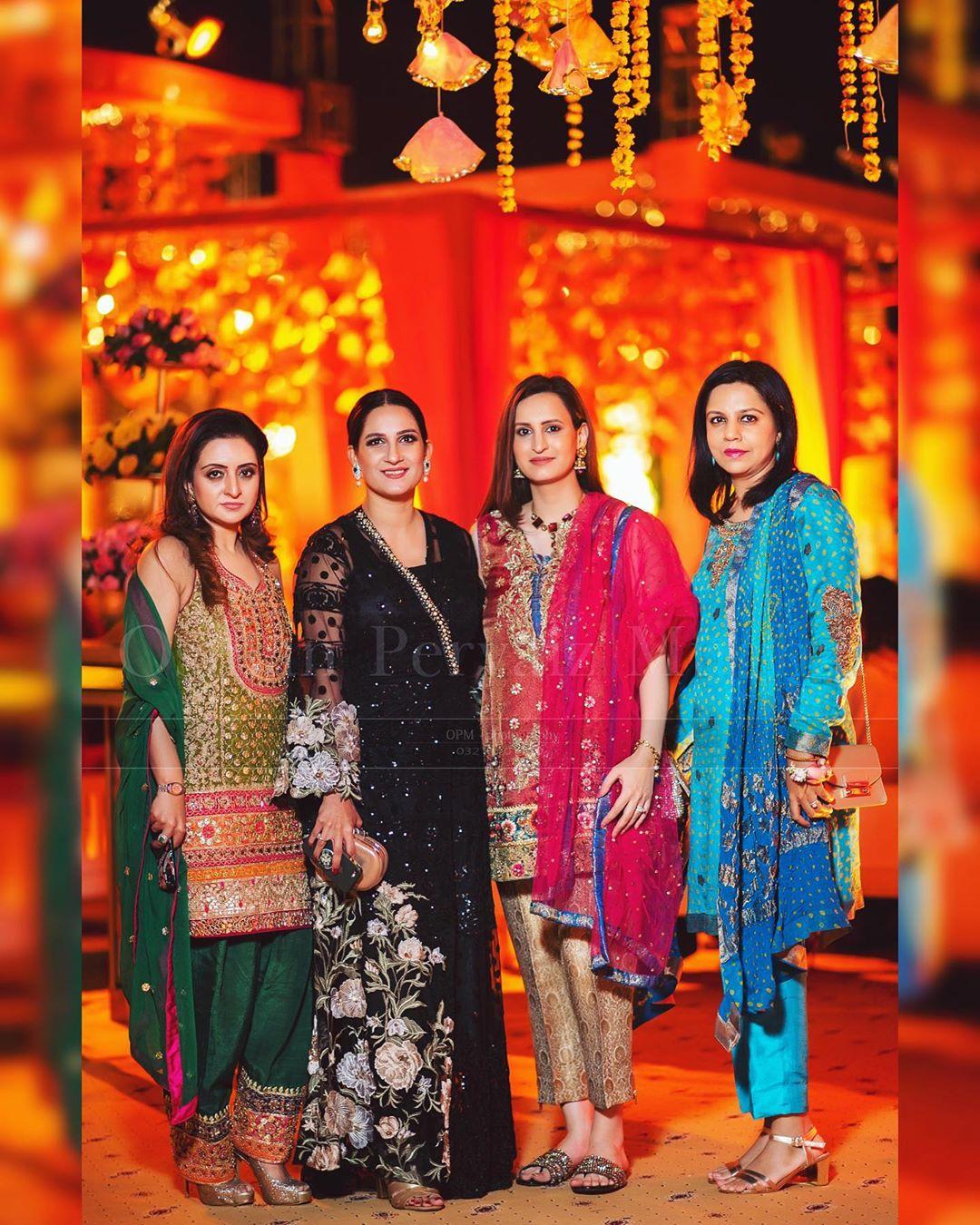 indian star at pakistani wedding 1