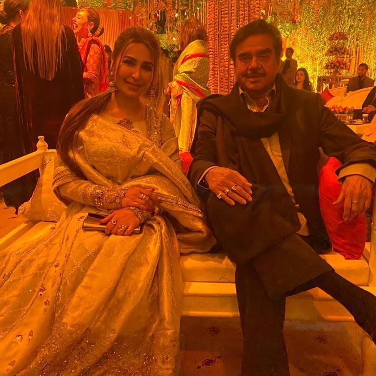 indian star at pakistani wedding 3