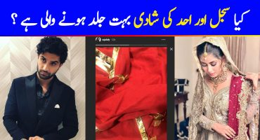 Are Sajal & Ahad Ready To Get Married Now