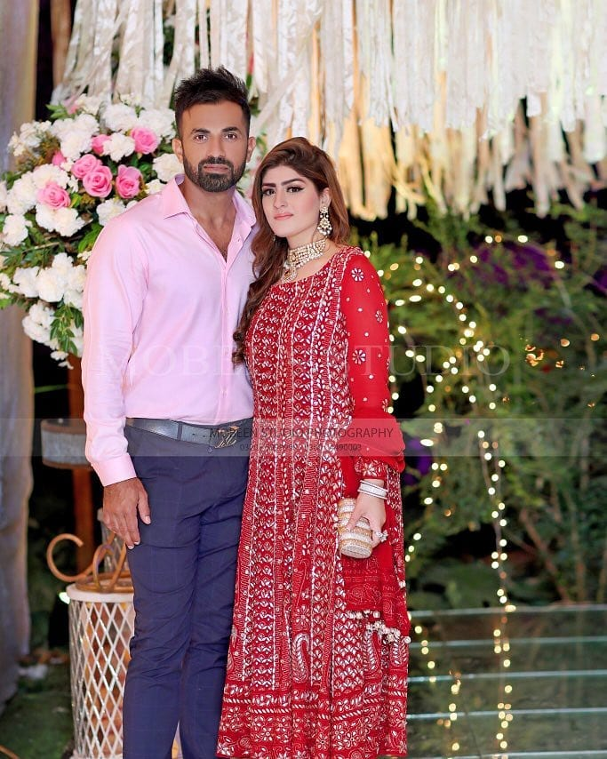 Beautiful Pictures of Cricketers Wahab Riaz and Hassan Ali with their Wives