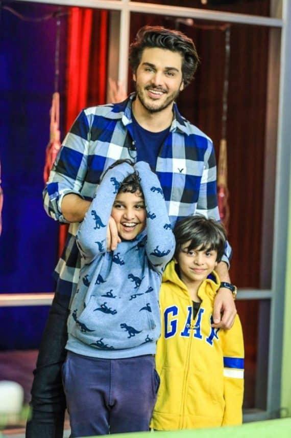 Ahsan Khan And His Kids Talk About Coronavirus