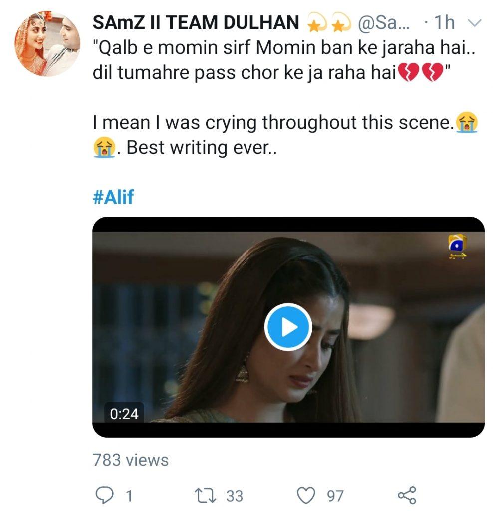 Public Reaction On Alif's Last Episode