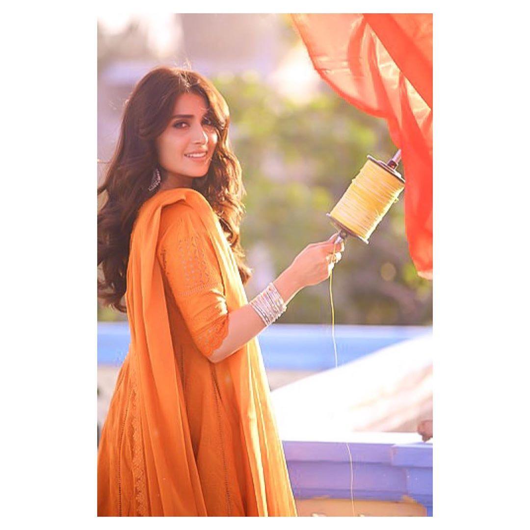 Ayeza Khan and Danish Taimoor Beautiful Clicks from Their Upcoming Drama