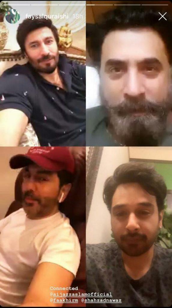 Celebrities Share Quarantine Day 5 Activities 2
