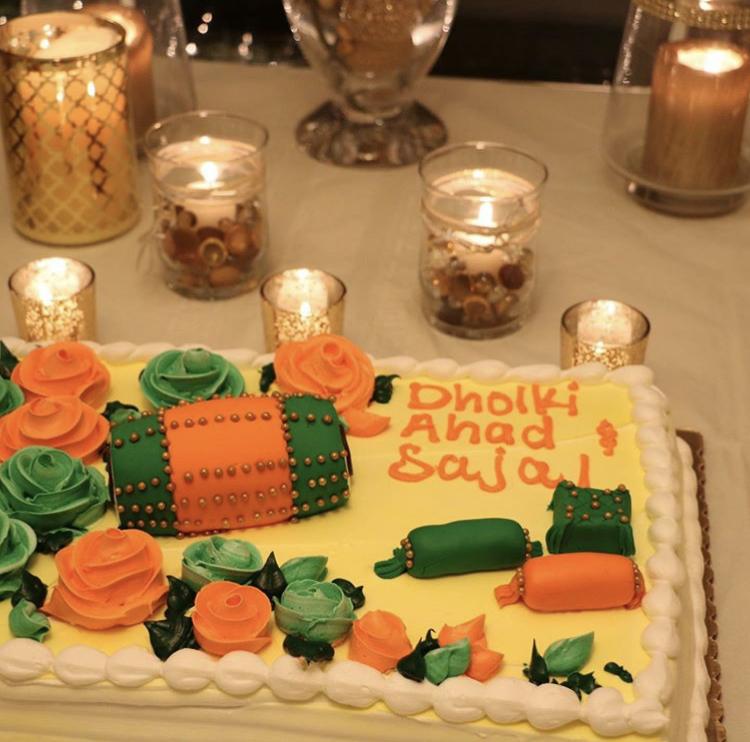 Ahad And Sajal's Dholki Celebrated In California