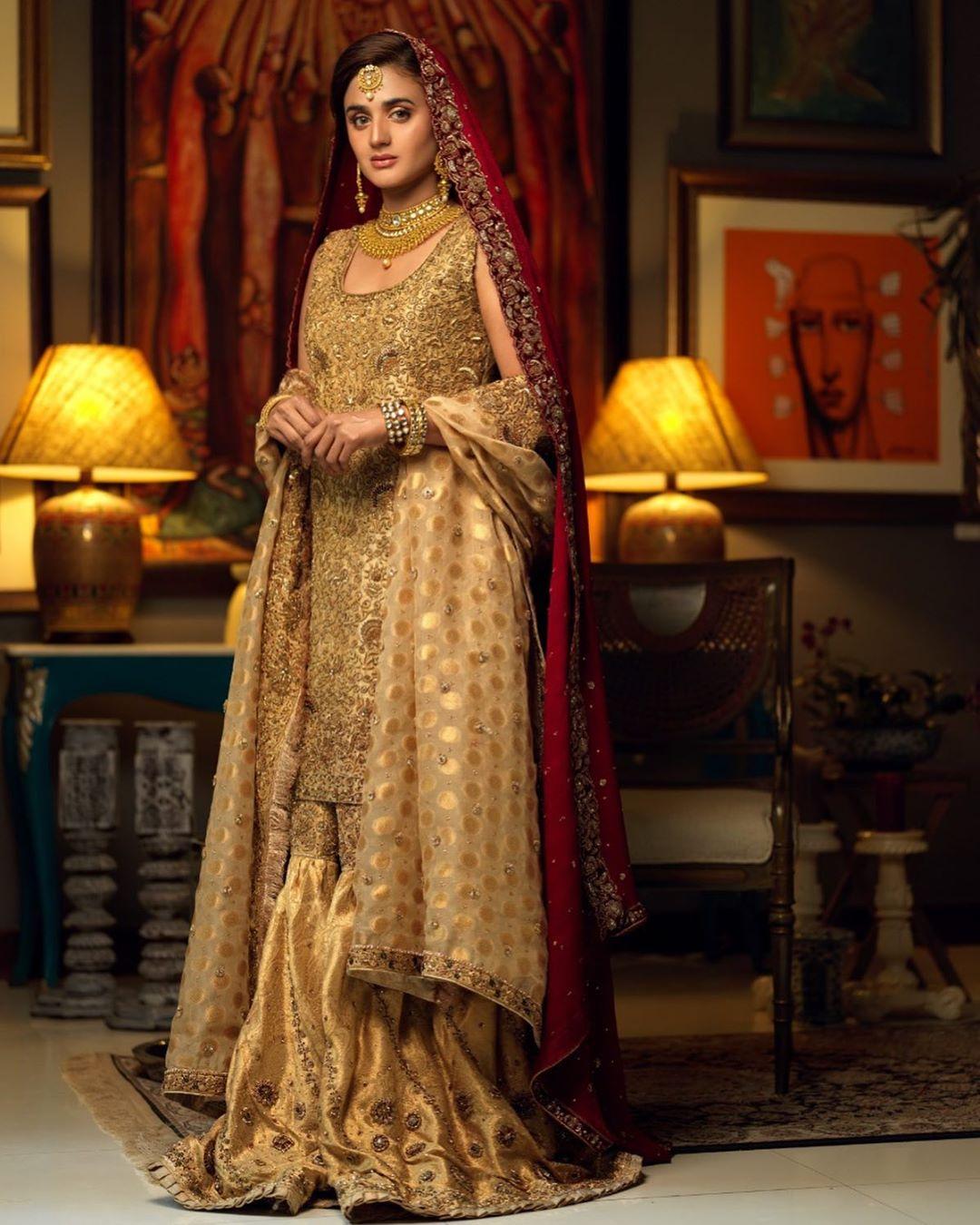 Beautiful Latest Bridal Photo Shoot of Hira Mani