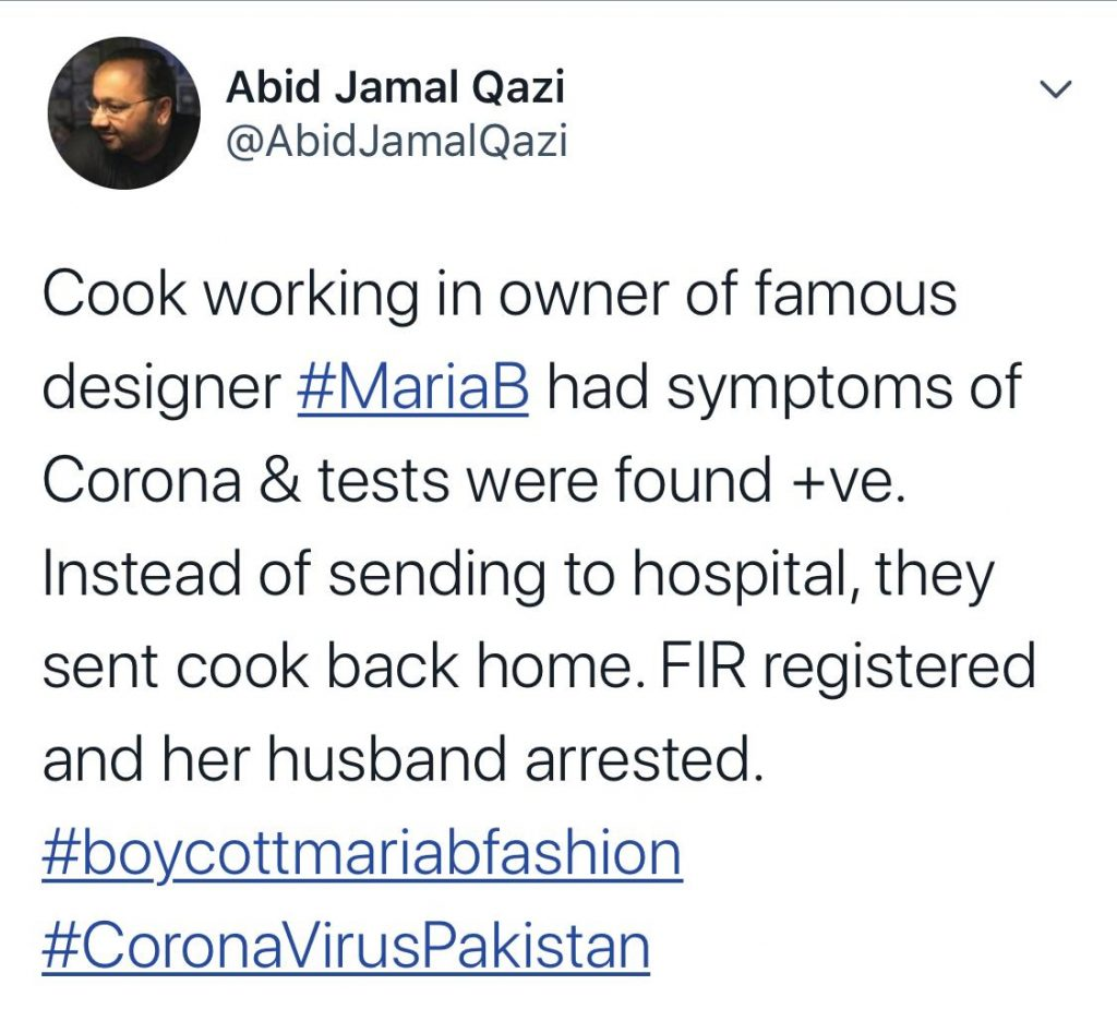 Maria And Her Husband Explaining The Whole Incident