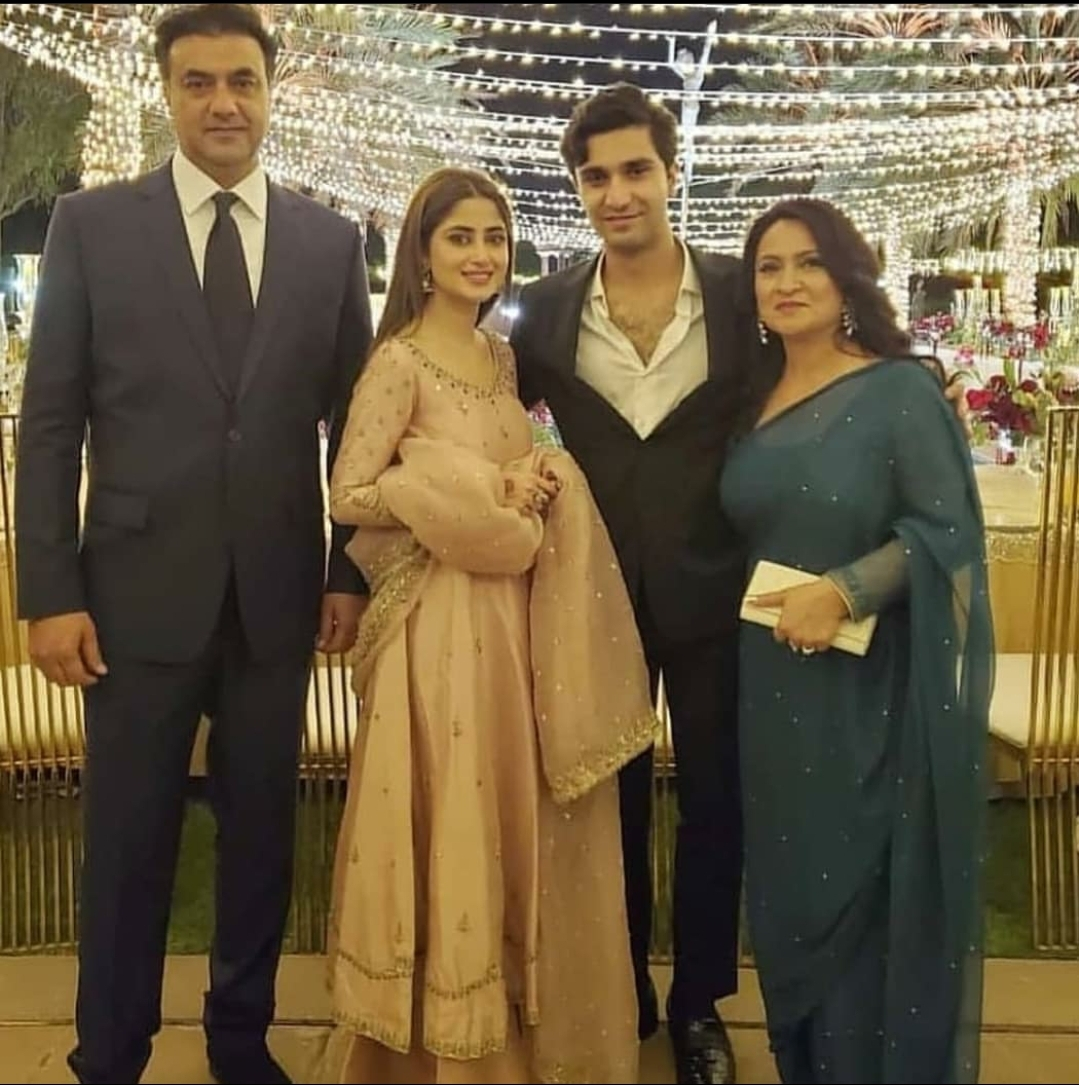 Sajal Aly And Ahad Raza Mir's Post Nikah Dinner Pictures