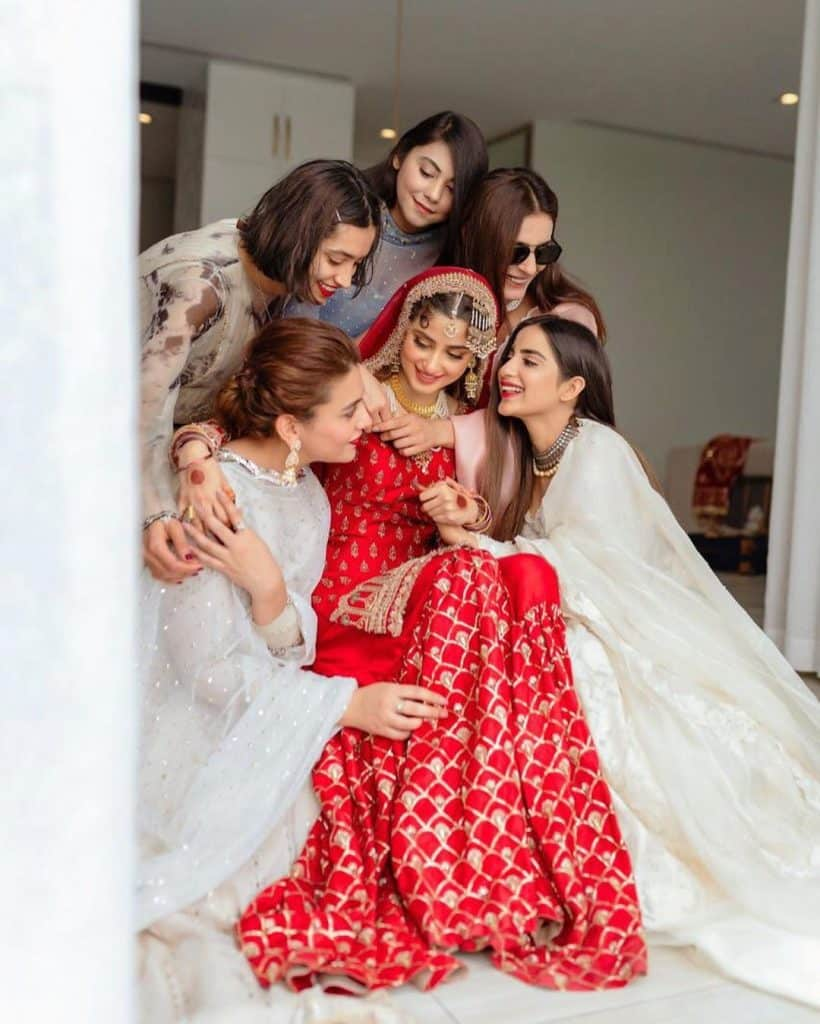 Saboor Aly Pens Down Emotional Note For Sajal Aly