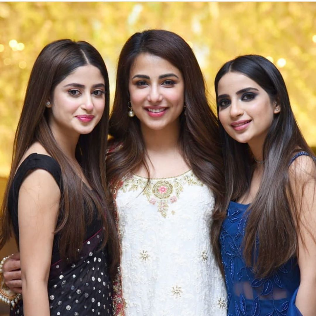 Sadia Ghaffar and Hassan Hayat Beautiful Pictures from Walima Reception