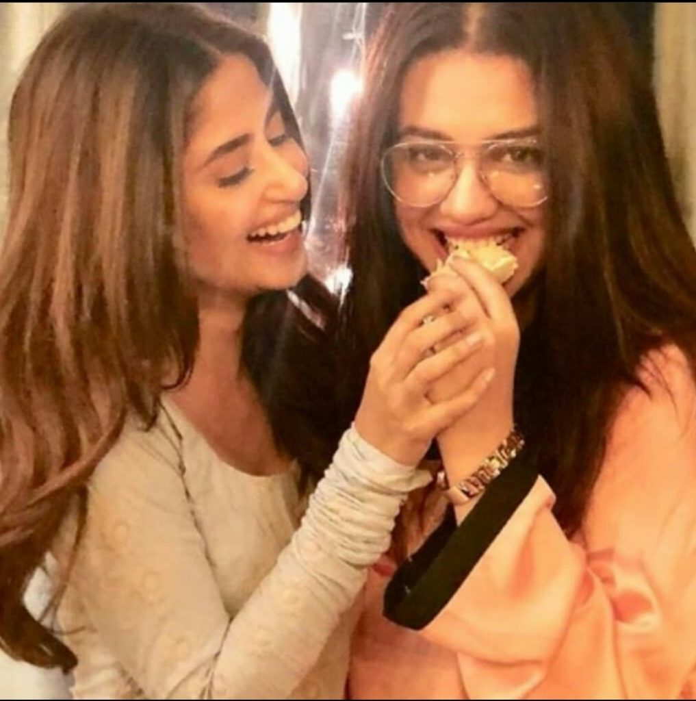 Zara And Sajal Are Giving Some Major Friendship Goals