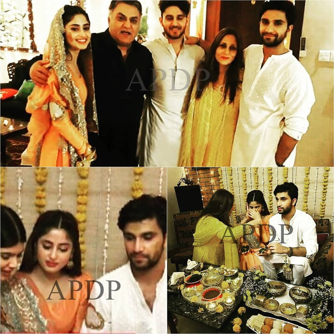 Sajal And Ahad Mayun Pictures