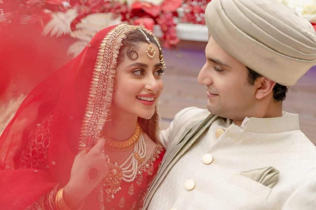 Sajal Aly Cooks For Husband Ahad Raza Mir