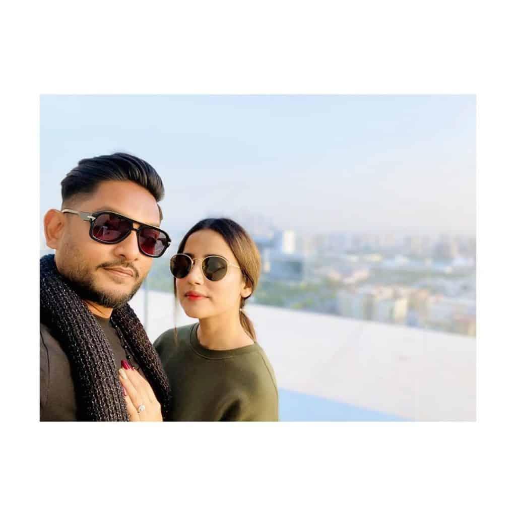Saniya Shamshad Showers Love For Husband 1