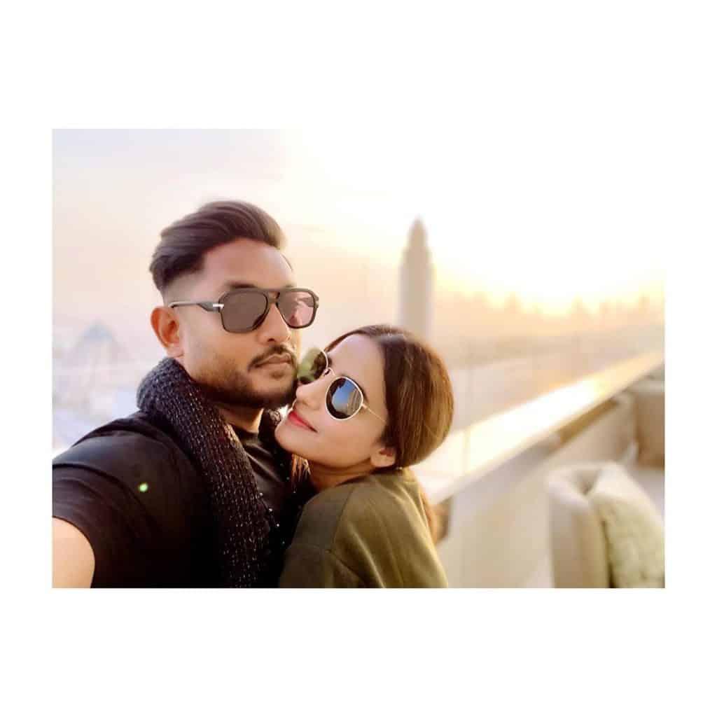 Saniya Shamshad Showers Love For Husband 7