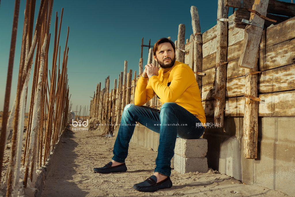 Shahid Afridi Campaign Shoot for Hope Not Out Shahid Afridi Foundation 000019