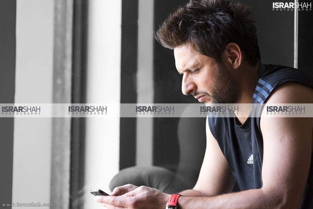 Shahid Afridi's Photoshoots in Which He Looks like a Model