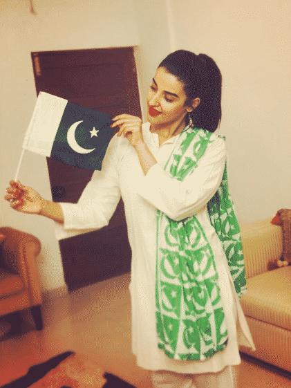 hareem farooq 14 august dress