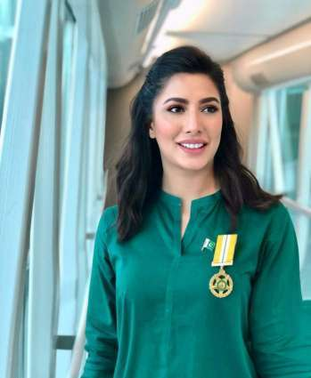 Mehwish Hayat to appear in BBC's 'My World' produced by Angelina Jolie