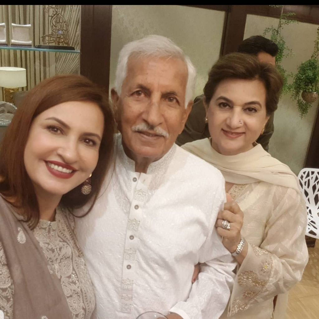 Adorable Family Pictures of Saba Faisal