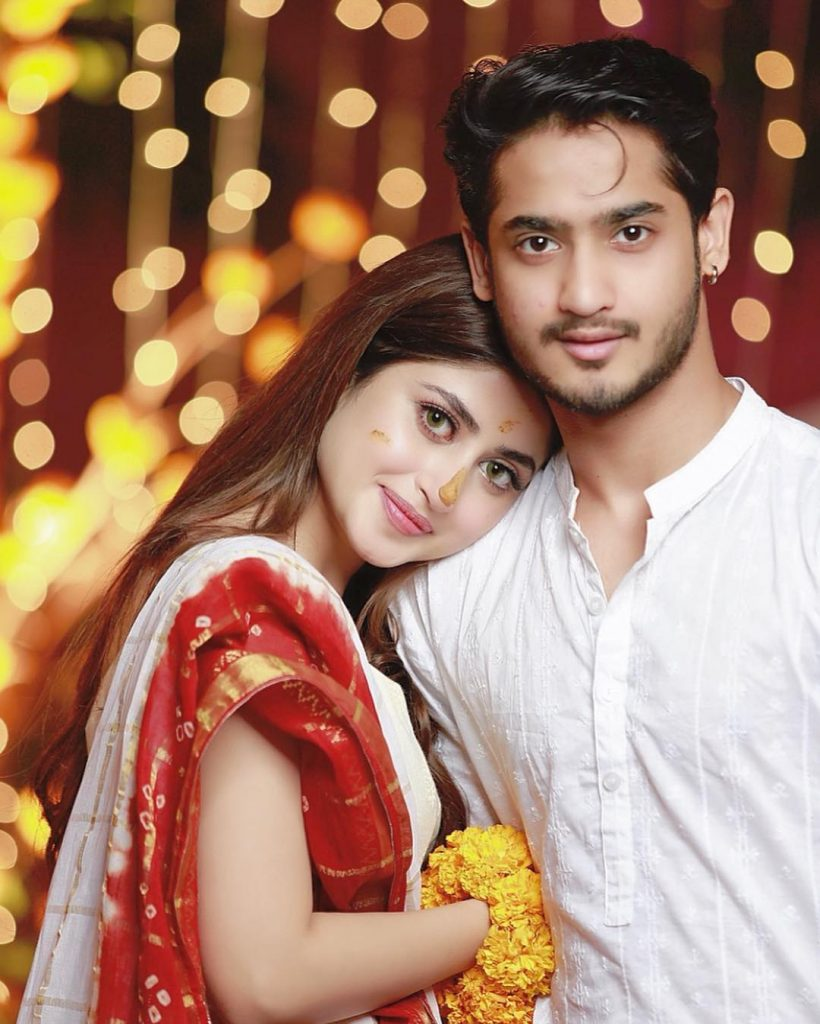 Saboor Aly Spills The Beans On Ahad & Sajal's Engagement