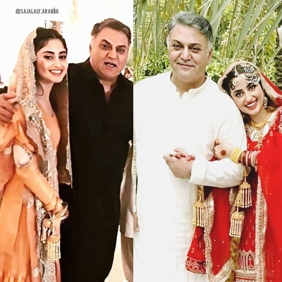 Ahad Raza Mir and Sajal Ali New HD Pictures from Their Nikah
