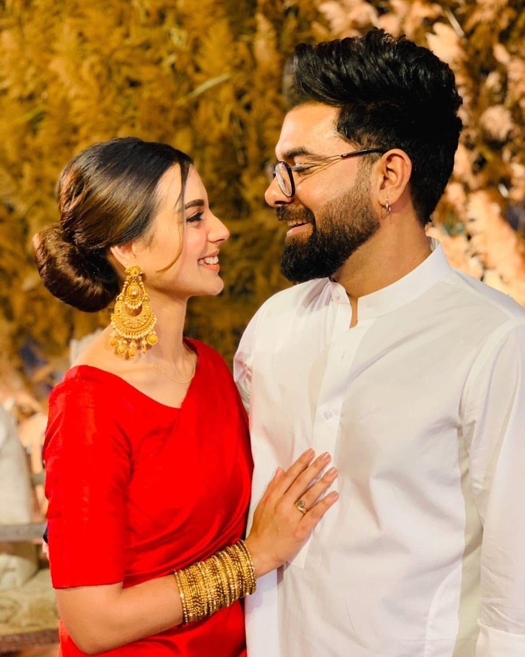 Zara Noor, Asad Siddique, Yasir Hussain and Iqra Aziz Clicks from Wedding of Sadia Ghaffar