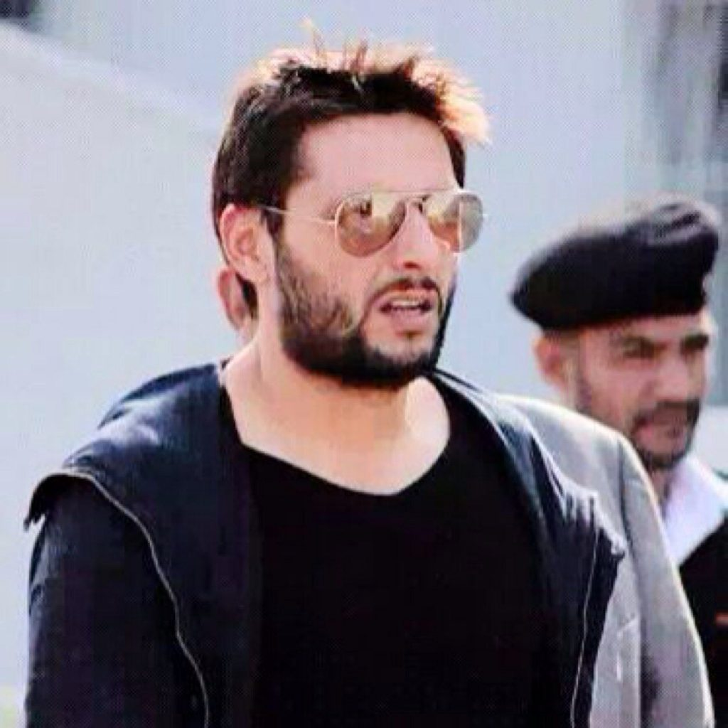 Adorable Video Of Shahid Afridi