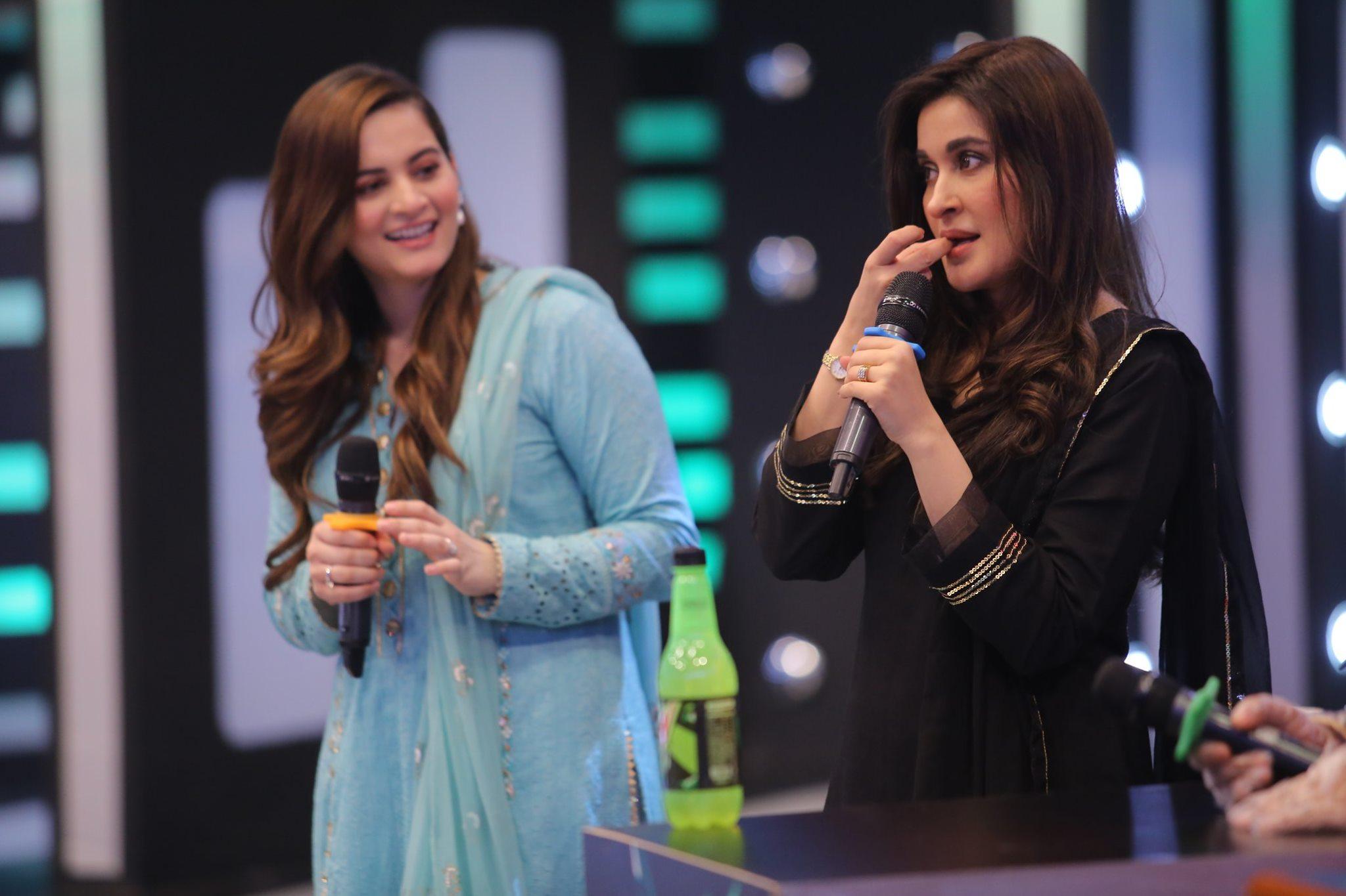 Aiman Khan And Muneeb Butt In Jeeto Pakistan League Ramzan Special