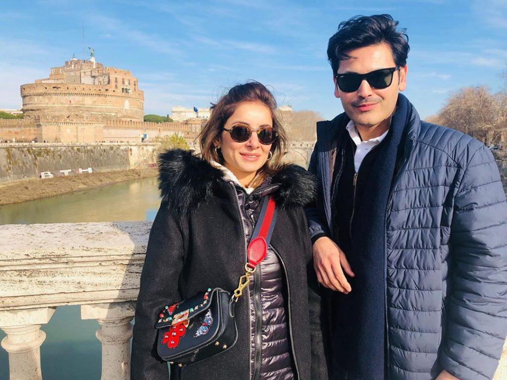 Fahad Mirza Celebrates Birthday With Family