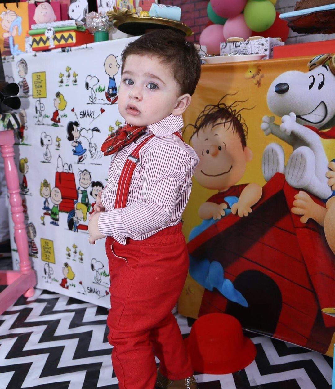 Fatima Effendi Latest Beautiful Clicks with her Sons