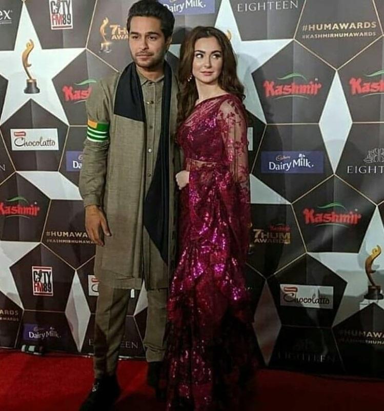 10 Types of Beautiful Sarees Worn By Pakistani Celebrities