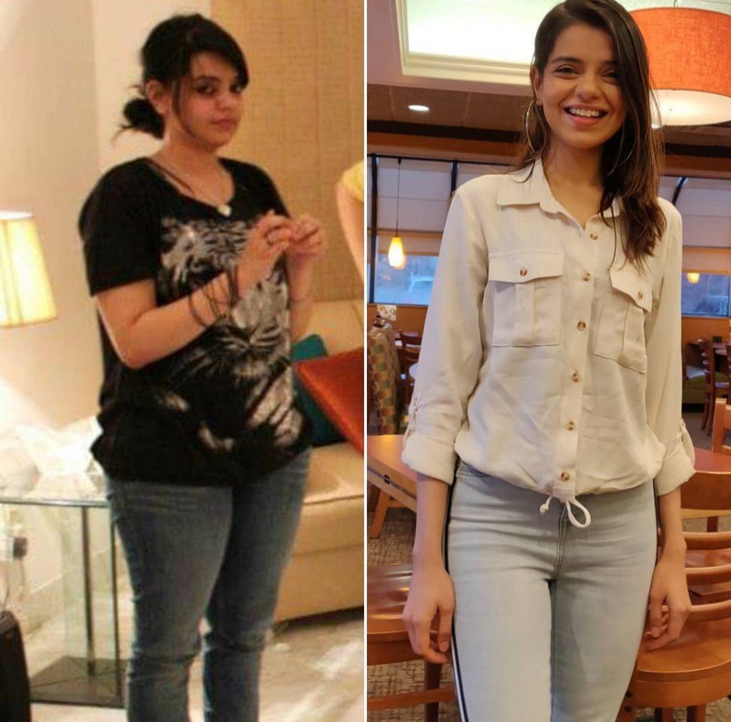 Srha Asghar Shared Weight Loss tips