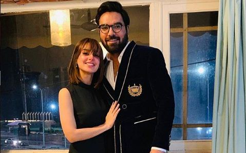 Iqra Aziz And Yasir Hussain Prepared Suit For Doctors