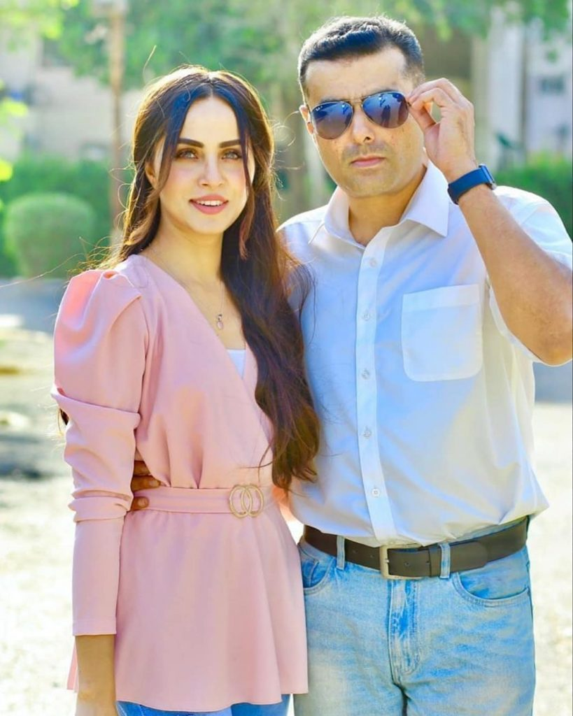 Nimra Khan Takes A Bicycle Ride With Husband